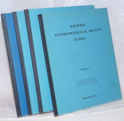 Berkeley: the Society, 1952. Paperback. Four issues of the 8.5x11 inch paperbound publication, mimeo...