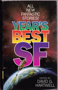 Year's Best SF # 1 (one) - Hot Times in Magna City, Wonders of the Invisible World, Think Like a Dinosaur, In Saturn Time, For White Hill, The Ziggurat, Microbe, The Day the Aliens Came, Evolution, The Three Descents of Jeremy Baker, A Worm in the Well, +