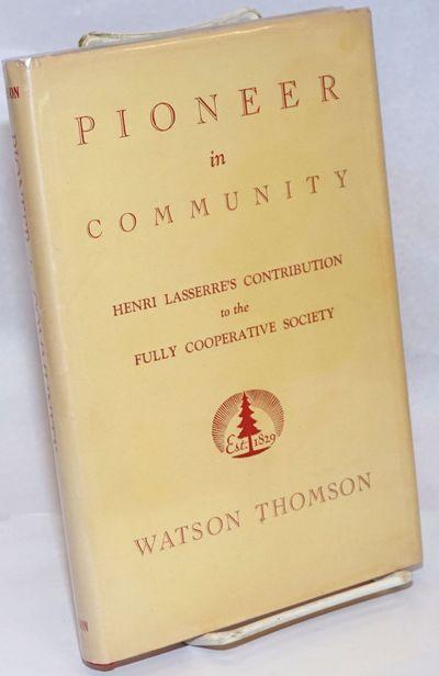 Toronto: The Ryerson Press, 1949. xv, 123p., very good hardcover in dj.
