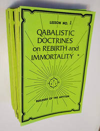 Qabalistic Doctrines on Rebirth and Immortality Lesson Course (68 Lessons)