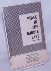 image of Peace in the Middle East