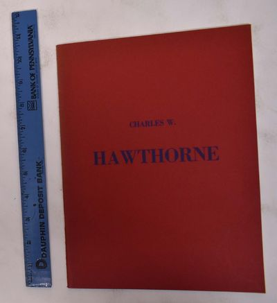 1952. Softcover. VG, pencil marks throughout. Red wraps. pp. 15 bw plates. Includes an essay by Hans...