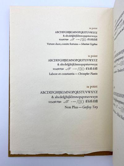 Verona: Plain Wrapper Press, 1978. A fine copy. 20 x 14.5 cm. Single folded sheet. Sewn-as-issued in...