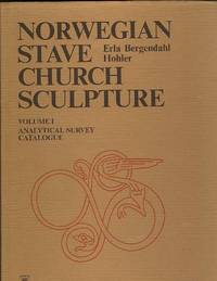 NORWEGIAN STAVE CHURCH SCULPTURE Volume I + 2. Analytical Survey & Catalogue