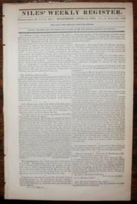Niles' Weekly Register ~ April 16, 1836 ~ Texas