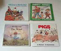 Set of Four Annikins Pigs, Moira's Birthday, David's Father, Millicent and the Wind