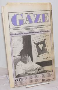 image of Twin Cities Gaze: the news bi-weekly for the Twin Cities Gay/Lesbian Community #144, July 25, 1991; Visitor from Israel Shares