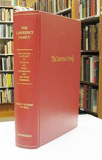 A Genealogy of John Lawrence (1609-1677) of Watertown and Groton, Massachusetts, and Many of His Descendants Through His Great-Great Grandson, Zachariah Lawrence III (1747-1810+), of Hollis, New Hampshire, and Northport, Maine. Being More Particularly a Record of Zachariah III and His Three Sons and Their Descendants, The Three Sons Being: Daniel (1772-1852), Zachariah IV (1789-1868, and Jonathan Powers (1795-1853), Who Removed From Northport, maine, to Morgan County, Ohio, During 1816-18, and Died there, Except for Zachriah IV, Who in 1855 Removed to Adams County, Iowa by  Robert Howard Van Pelt - Hardcover - Edition Unstated - 1998 - from Lonesome Water Books and Biblio.com