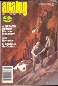 Analog Science Fiction / Science Fact, November 1980 (Volume 100, Number 11 ) by Stanley Schmidt; Michael McCollum; Ray Thorne; Ted Reynolds; Marc Stiegler; Laurence M. Janifer; William Tuning; L. Sprgaue de Camp; James Oberg; G. Harry Stine - Paperback - November 1980 - from Books of the World (SKU: RWARE0000002136)