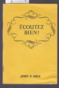 image of Ecoutez Bien! French Aural Comprehension Tests for the Middle School
