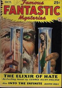 "image of FAMOUS FANTASTIC MYSTERIES: October, Oct. 1942 (""The Exilir of Hate"")"