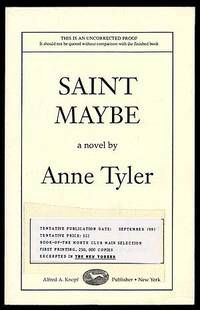 an analysis of the novel saint maybe by anne tyler Based on a best-selling anne tyler novel, this hallmark hall of fame  presentation centers on an unselfish young man who in 1965 sidelines.