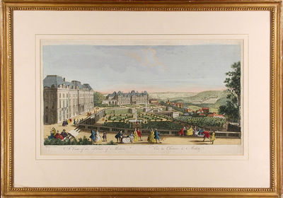 Paris, 1745. Hand-coloured engraving. Printed on laid paper. In excellent condition. Framed in a bea...