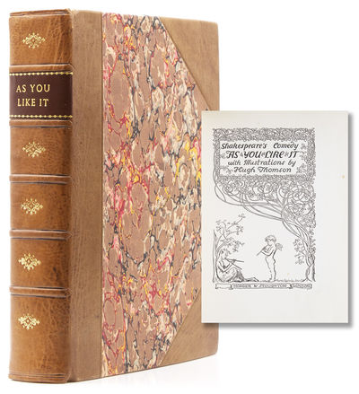London: Hodder & Stoughton, nd. Illustrated by Hugh Thomson with 40 colour plates. 1 vols. 8vo. Boun...