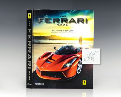 Kempen, Germany: TeNeues, 2013. First edition of this work which presents Ferrari's history through ...