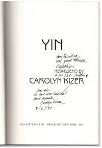image of Yin: New Poems.