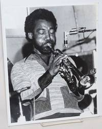 Photograph of an African American jazz trumpeter