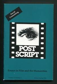 Post Script: Essays in Film and the Humanities (Winter/Spring 1996):  Special Issue: David Cronenberg