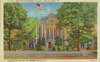 Washington Memorial Chapel, Valley Forge, Pa 1949 used Postcard
