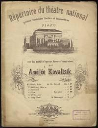 Bánk Bán de Fr. Erkel Répertoire du théatre national petites fantaisies faciles et instructives pour le Piano sur des motifs d'operas favoris hongroises ... No.1 Kor. 1. 60.