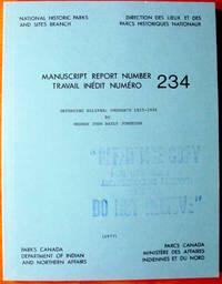 image of Defending Halifax: Ordnance 1825-1906. Manuscript Report Series
