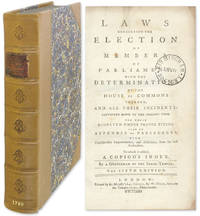 Laws Concerning the Election of Members of Parliament..