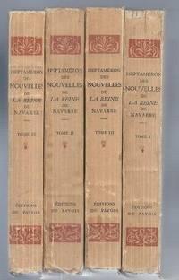 Heptaméron, des nouvelles de la Reine de Navarre, 4 tomes