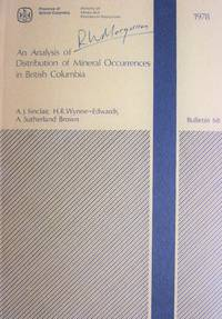 An Analysis of Distribution of Mineral Occurrences in British Columbia