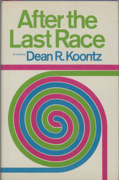 New York: Atheneum, 1974. Octavo, cloth-backed boards. First edition. A crime caper novel. Racetrack...