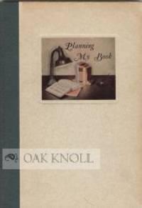 PLANNING MY BOOK