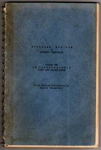 "Syntagma Musicum, Volume Two: De Organographia - First and Second Parts [PRE-PUBLICATION ""PROOF"" COPY]"
