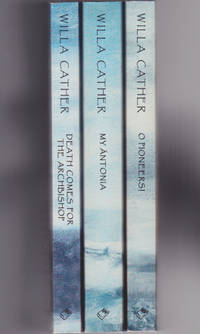 image of Death Comes for the Archbishop, My Antonia & O Pioneers (matching set, Quality Paperback Book Club, 1995)