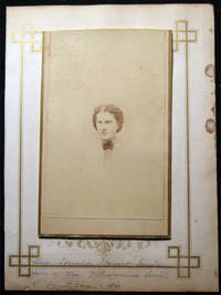 1864 Carte-de-Visite Photograph of Miss Cornelia Stewart Smith Daughter of Hon. J. Lawrence Smith of Smithtown By D. Appleton & Co., A.A. Turner Photographer
