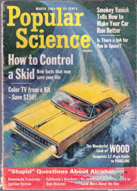 Popular Science Magazine, 1964, March