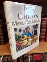 JULIA CHILD'S MENU COOKBOOK [INSCRIBED]