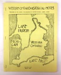 Western Ontario Historical Notes March 1966