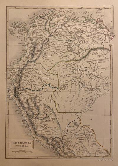 London: A & C Black, 1840. Map. Steel engraving. Sheet measures 14 3/4