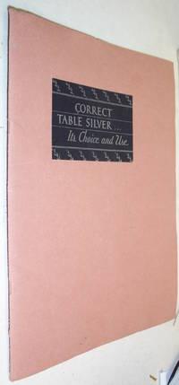 CORRECT TABLE SILVER