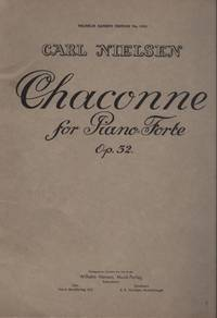 CHACONNE for Pianoforte, Op 32