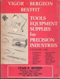 Vigor Bergeon Bestfit Tools Equipment Supplies for Precision Industries Catalog #116