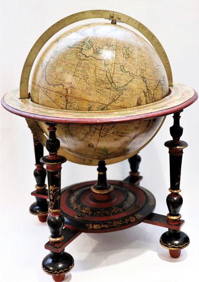 Terrestrial globe by Desnos � 1758