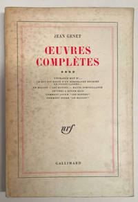 Oeuvres Completes (Complete Works)