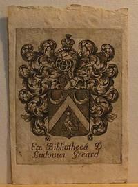 image of Ex Bibliotheca D. Ludouici Gerard