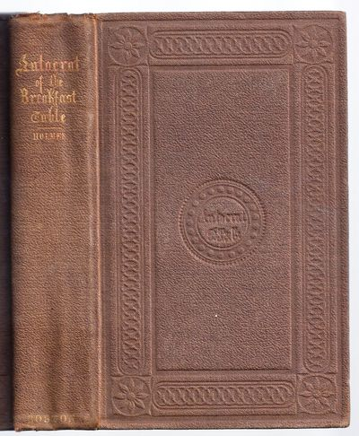 Boston: Phillips, Sampson & Co., 1858. First Edition. Hardcover. Moderate foxing, later owner name o...