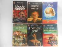 image of Loterie Solaire, Ubik, Au Bout du Labyrinthe, L'Homme Doré,  La Vérité Avant-Derniere, Blade Runner (6 Books / livres)