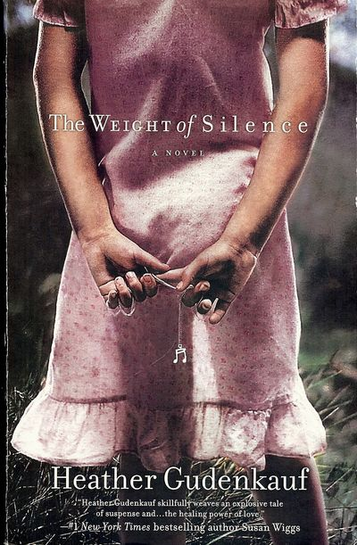 2009. GUDENKAUF, Heather. THE WEIGHT OF SILENCE. : Mira, . 8vo., pictorial wraps; 373 pages. First E...