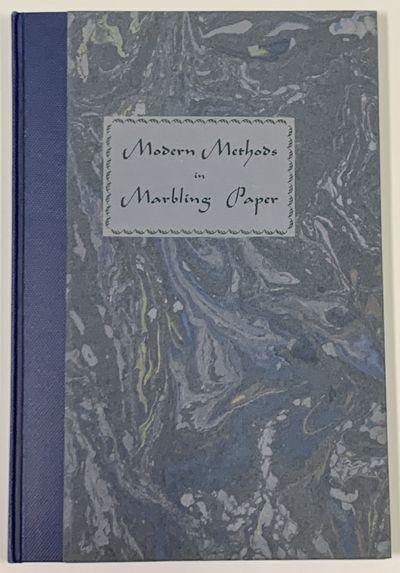 MODERN METHODS In MARBLING PAPER.; A...