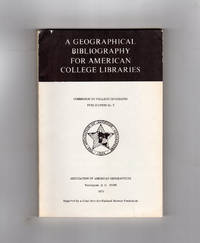 A Geographical Bibliography for American College Libraries:Commission on College Geography Publication No. 9