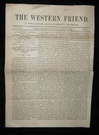 THE WESTERN FRIEND A Religious & Literary Journal