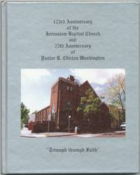 123rd Anniversary of the Jerusalem Baptist Church and 25th Anniversary of Pastor R. Clinton Washington